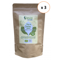 3 x Hoja Entera de Stevia...